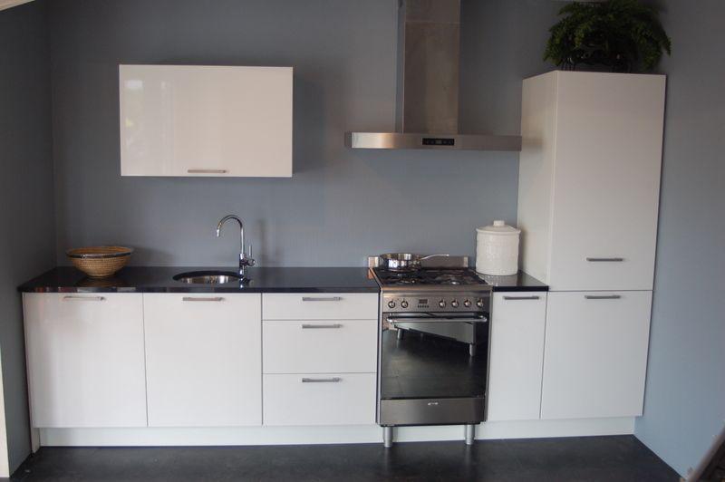 Hoogglans Keuken Wit : Keukenprijs Altijd de beste keukenprijs! Hoogglans Wit [32775]