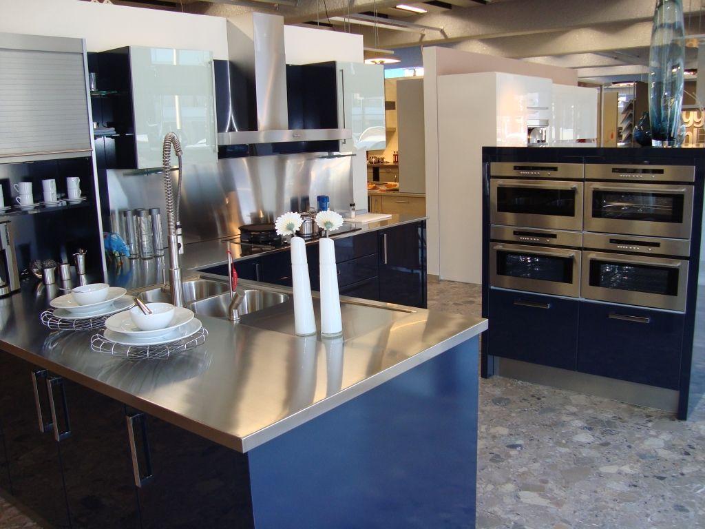 Keuken Plint Verwijderen : Altijd de beste keukenprijs! Schitterende blauwe lak keuken [45348