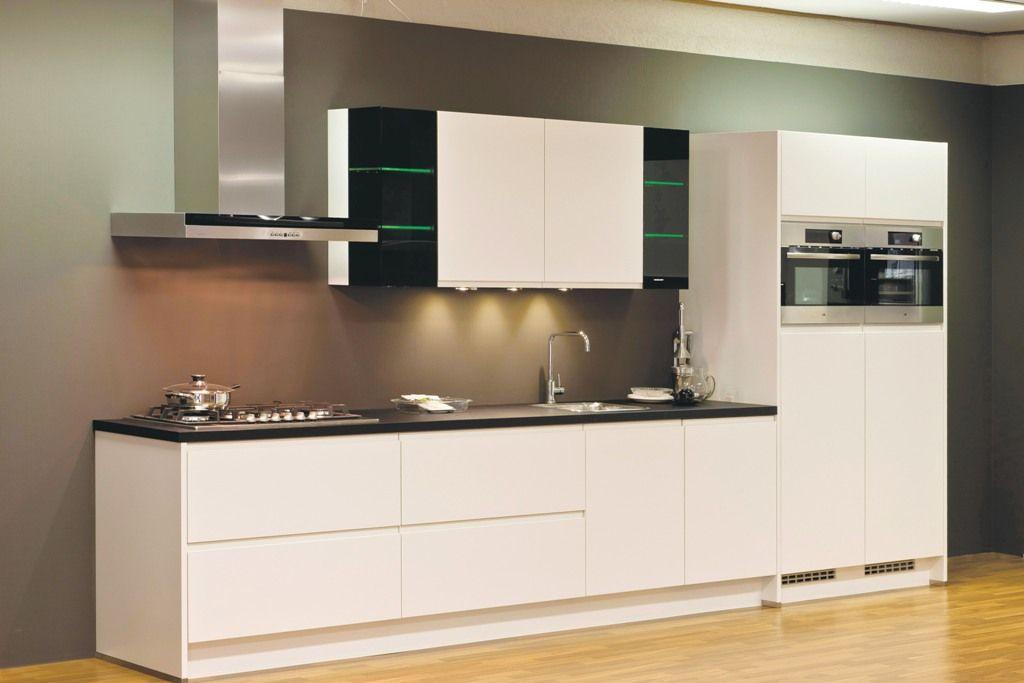 Keuken Wit Mat : Keukenprijs Altijd de beste keukenprijs! Integra mat wit [43280]