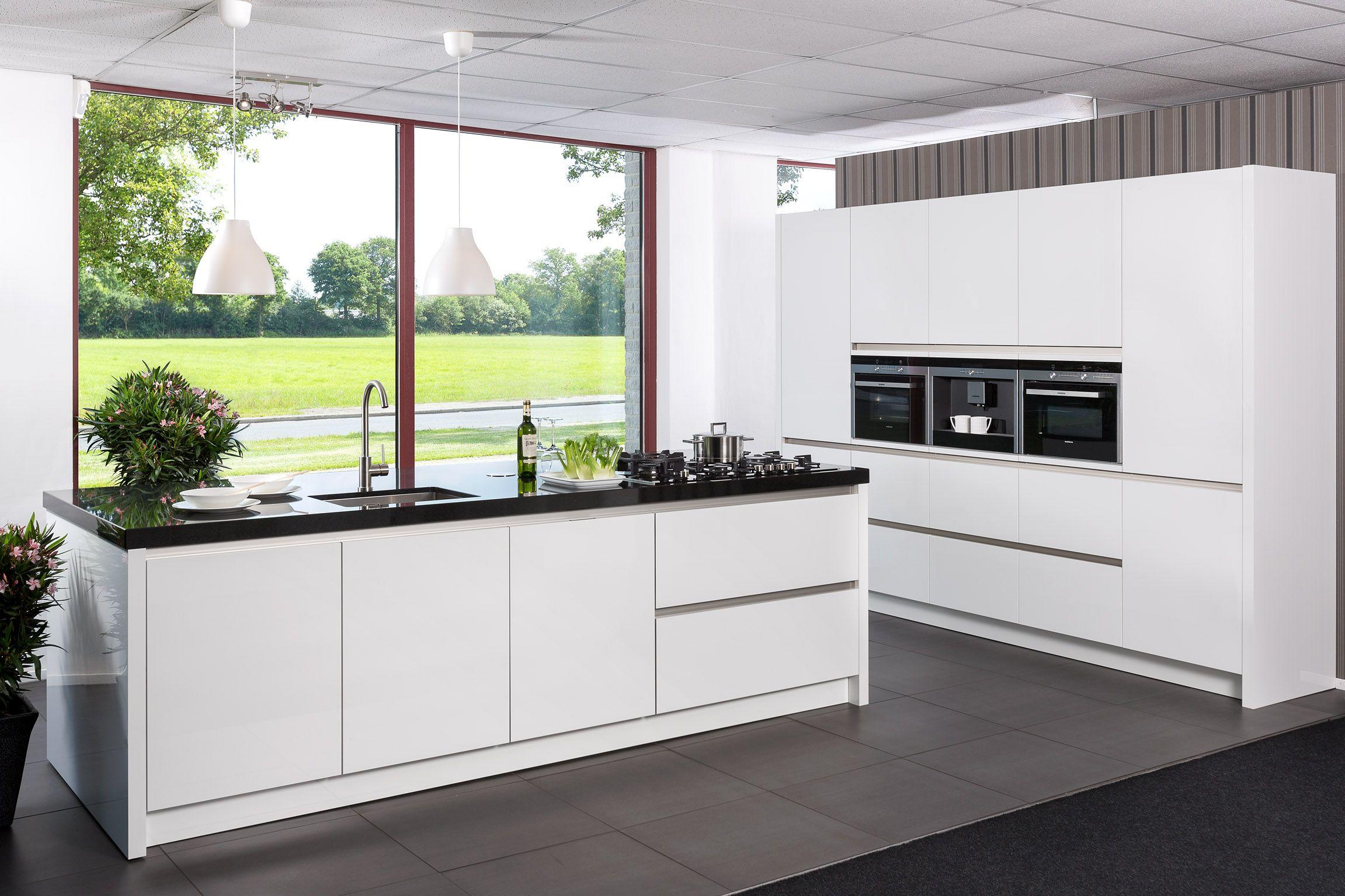 Ontwerp hoogglans keuken - Ontwerp witte keukens ...