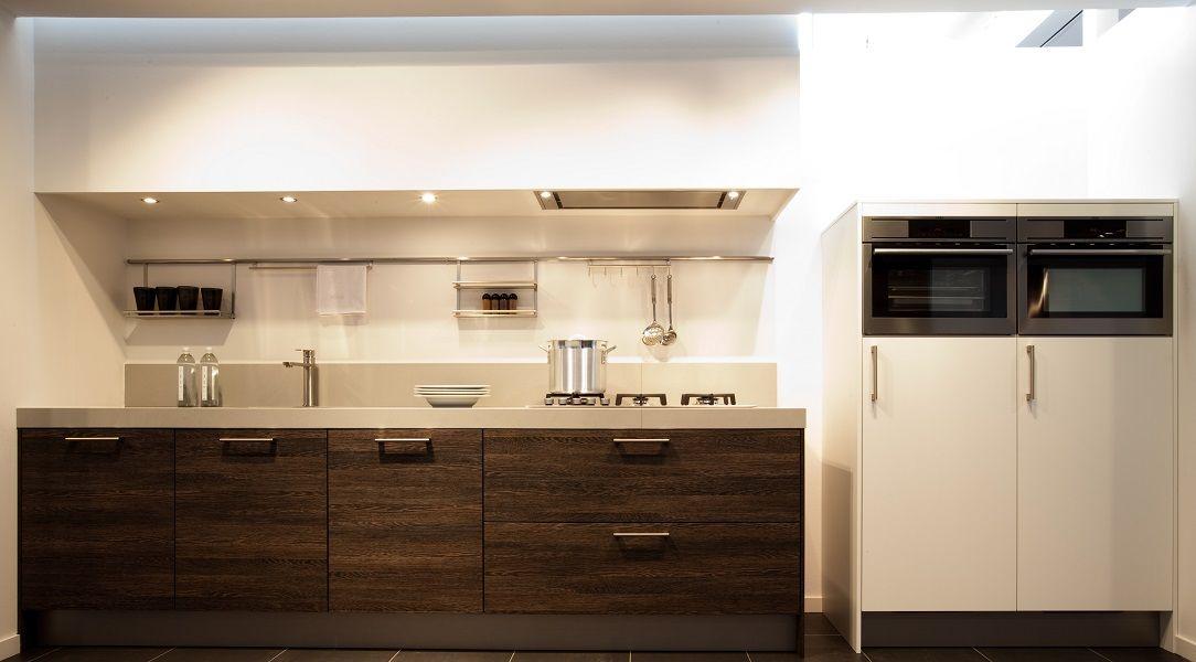 Eiken Keuken Wit : Keukenprijs Altijd de beste keukenprijs! Rechte keuken