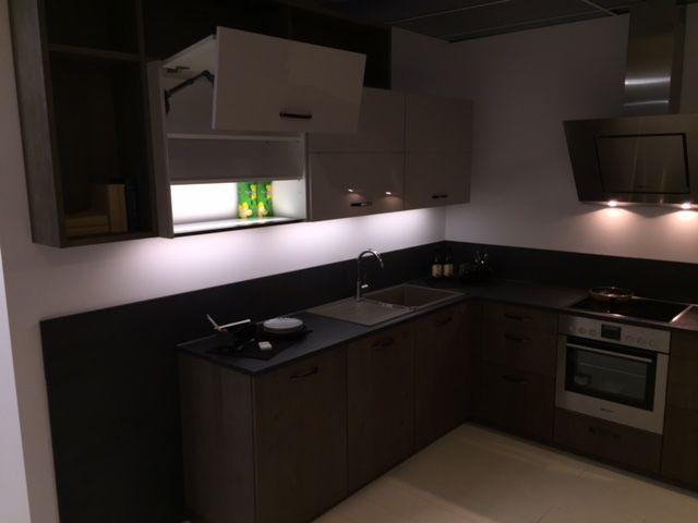 Keukenprijs altijd de beste keukenprijs hout fineer showroom keuken hoek 58754 - De beste hedendaagse keukens ...