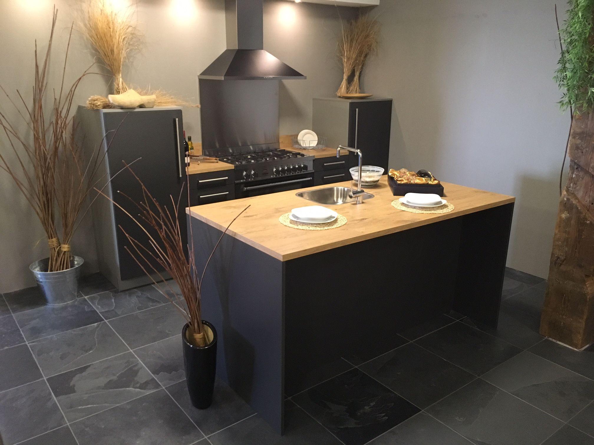 Keukenprijs altijd de beste keukenprijs eiland keuken modern grijs 54120 - Idee deco keuken grijs ...