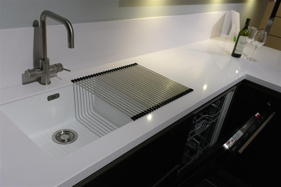 Keukenprijs altijd de beste keukenprijs schmidt greeploos hoogglans zwart 59130 - Werkblad silestone ...